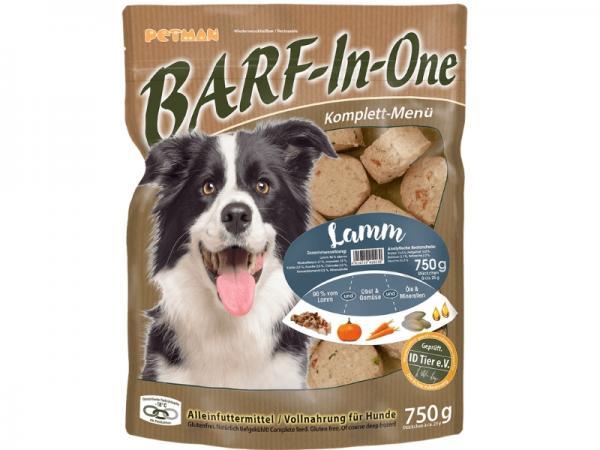 BARF-In-One Lamm Komplett-Menü für Hunde