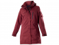 Preview: Owney Arctic Damen-Winterparka cherry red für Hundehalter