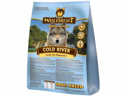Wolfsblut Cold River Small Breed Hundefutter trocken