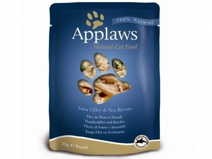 Applaws Thunfischfilet & Brachse 12 x 70 g