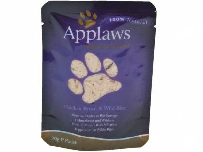Applaws Hühnerbrust & Wildreis 12 x 70 g