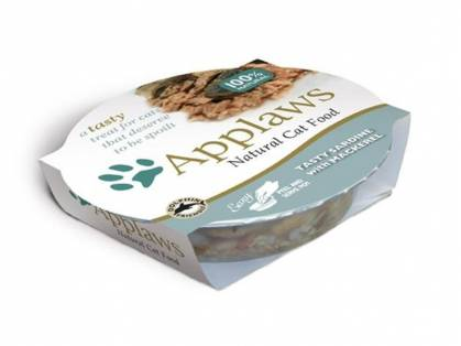 Applaws Natural Cat Food Katzenfutter mit Sardinen & Makrelen 10 x 60 g