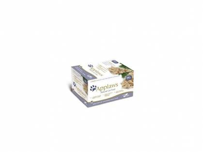 Applaws Selection Katzenfutter mit Huhn 8 x 60 g