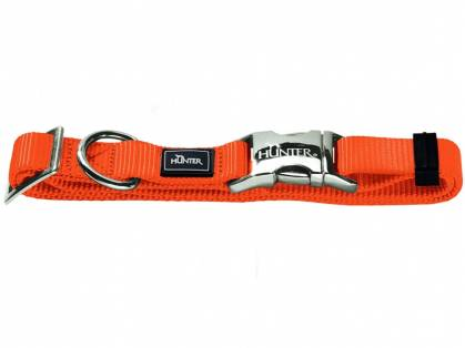Hunter Halsung Vario Basic Alu-Strong Hundehalsband orange