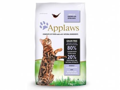 Applaws Natural Complete Cat Food Adult Katzenfutter mit Hühnchen & Ente