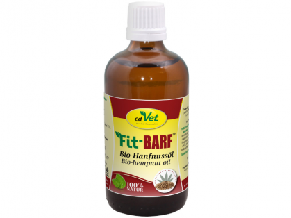 cdVet Fit-BARF Bio-Hanfnussöl 100 ml