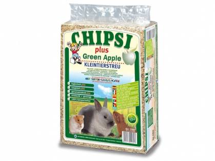Chipsi Green Apple Kleintierstreu 60 Liter