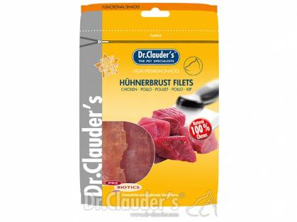 Dr. Clauder`s Hühnerbrust Filets 10 x 80 g