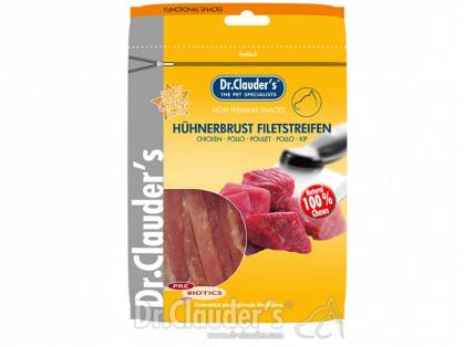 Dr. Clauder`s Hühnerbrust Filetstreifen Hundesnacks