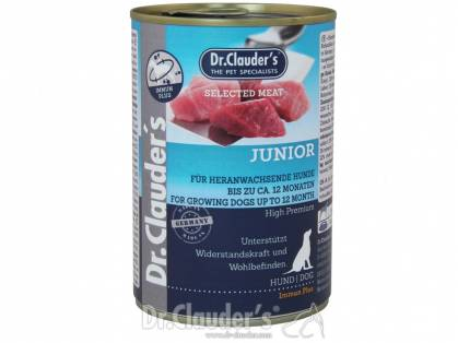 Dr. Clauder`s Selected Meat Junior Hundefutter