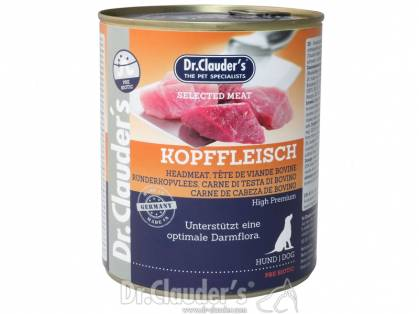 Dr. Clauder`s Selected Meat Kopffleisch Hundefutter