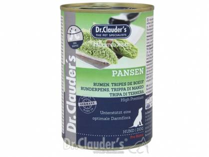 Dr. Clauder`s Selected Meat Pansen Hundefutter