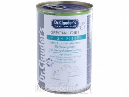 Dr. Clauder`s Selected Meat Special Diet High Fibre Hundefutter