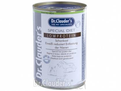 Dr. Clauder`s Selected Meat Special Diet Low Protein Hundefutter