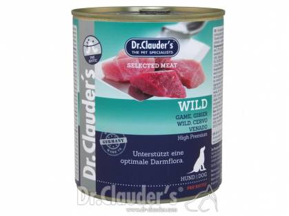 Dr. Clauder`s Selected Meat Wild Hundefutter