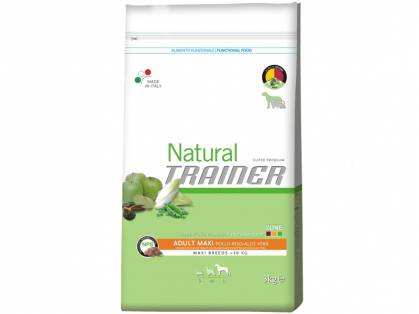 Trainer Natural Adult Maxi Huhn-Reis-Aloe Vera 12,5 kg