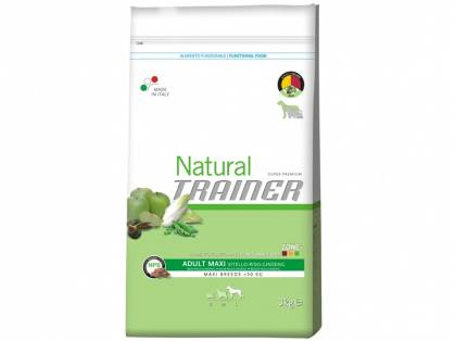 Trainer Natural Adult Maxi Rind-Reis-Ginseng 12,5 kg