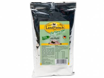 LandFleisch Dog Softbrocken Adult Huhn
