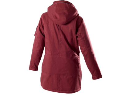 Owney Arctic Damen-Winterparka cherry red für Hundehalter