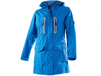 Owney Arnauti Damen-Langjacke alpine blue