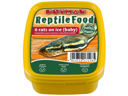 Petman Rats on Ice Babyratte Reptilien-Frostfutter