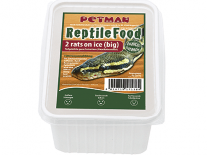 Petman Rats on Ice Ratte Big XL Reptilien-Frostfutter 2 x 2 Stück