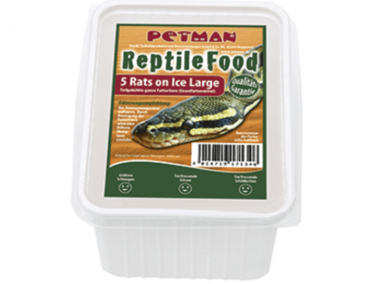 Petman Rats on Ice Ratte Large Reptilien-Frostfutter