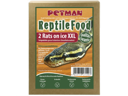 Petman Rats on Ice Ratte Big XXL Reptilien-Frostfutter