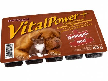 Petman Vital Power Geflügelblut geblistert