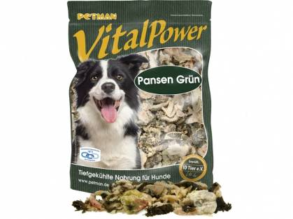 petman vital power pansen gr n hundefutter. Black Bedroom Furniture Sets. Home Design Ideas
