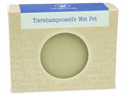 Seifenreich Tiershampooseife Wet Pet 100 g