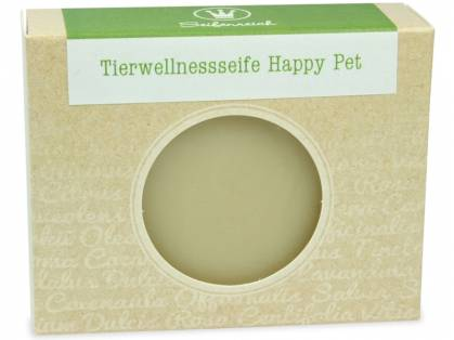 Seifenreich Tierwellnessseife Happy Pet 100 g