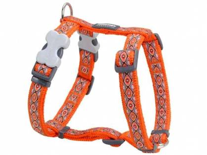 Red Dingo Snake Eyes Orange Hundegeschirr orange