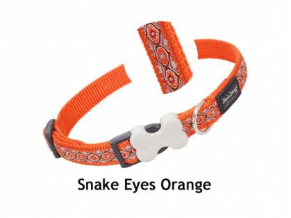 Red Dingo Snake Eyes Orange
