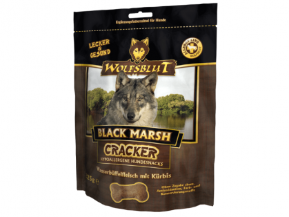 Wolfsblut Black Marsh Cracker Hundekekse 6 x 225 g