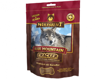 Wolfsblut Blue Mountain Cracker Hundekekse 6 x 225 g