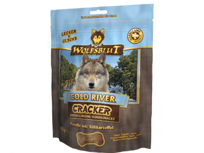 Wolfsblut Cold River Cracker Hundekekse 6 x 225 g