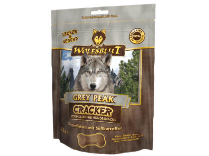 Wolfsblut Grey Peak Cracker Hundekekse 6 x 225 g