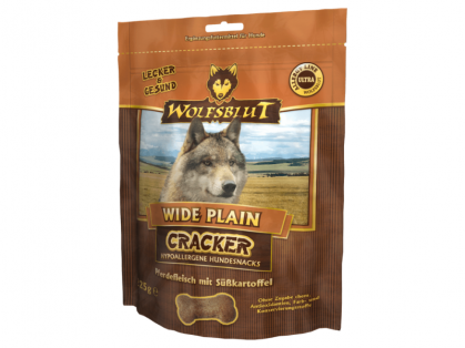 Wolfsblut Wide Plain Cracker Hundekekse 6 x 225 g
