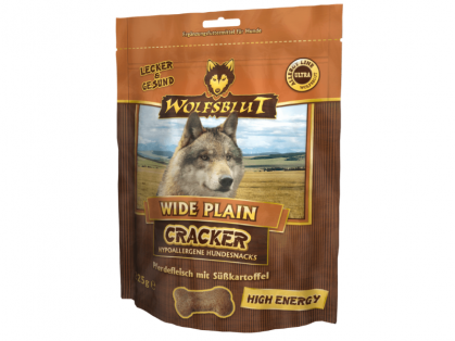 Wolfsblut Wide Plain High Energy Cracker Hundekekse 6 x 225 g