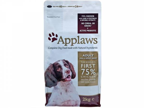 Applaws Adult Small & Medium Breeds Huhn & Lamm Hundefutter