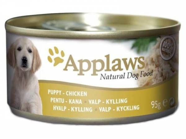 Applaws Puppy Huhn Hundefutter nass 12 x 95 g