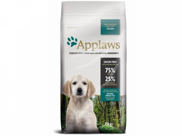 Applaws Puppy Small & Medium Breeds Huhn Hundefutter