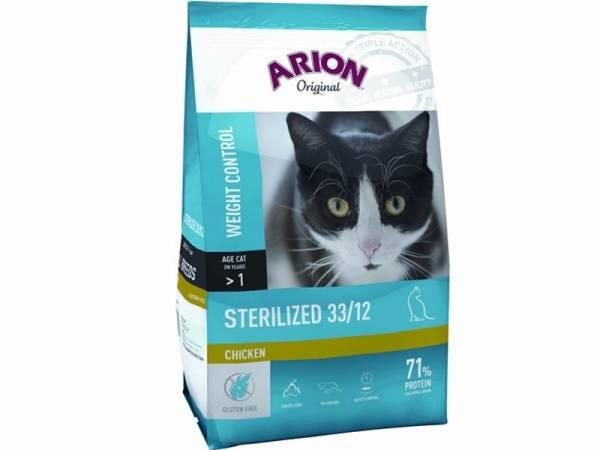 Arion Original Sterilized 33/12 Chicken Katzenfutter trocken