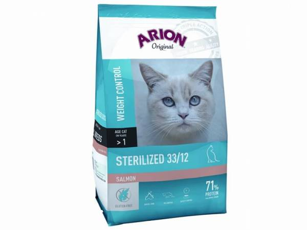 Arion Original Sterilized 33/12 Salmon
