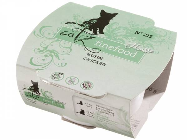 Catz finefood Mousse No. 215 Huhn