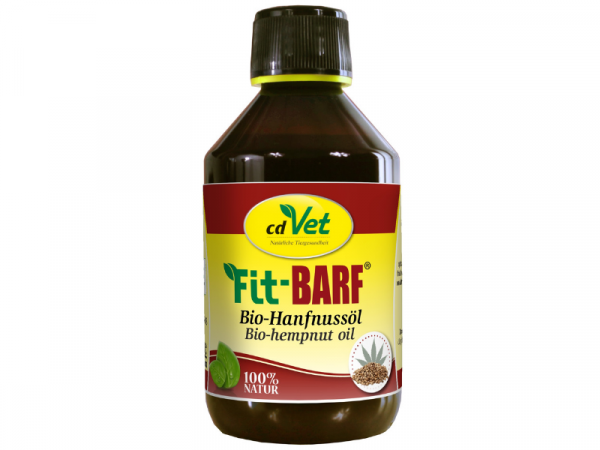 cdVet Fit-BARF Bio-Hanfnussöl 250 ml