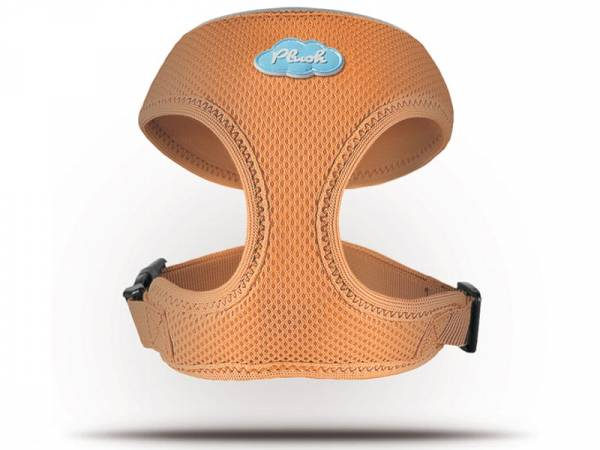 Curli Basic Geschirr Air-Mesh orange