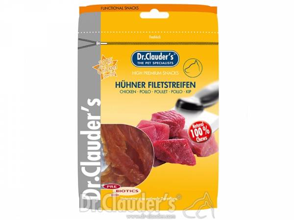 Dr. Clauder`s Hühner Filetstreifen Hundesnacks