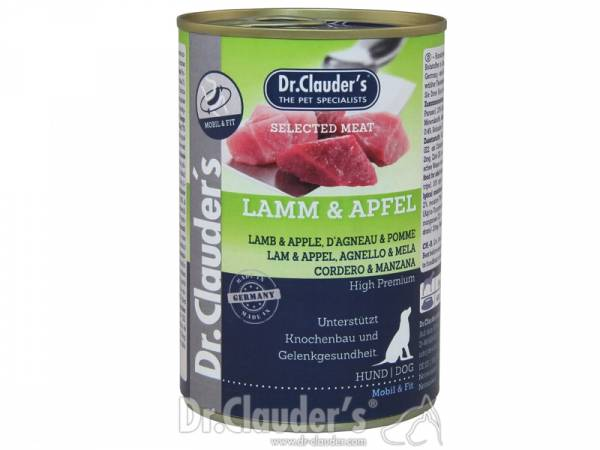 Dr. Clauder`s Selected Meat Lamm & Apfel Hundefutter